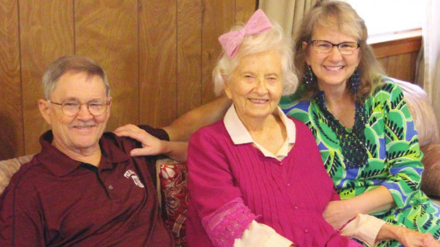 A century of purpose, a full life in Springtown